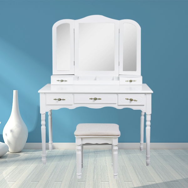 Color selection of dressing table